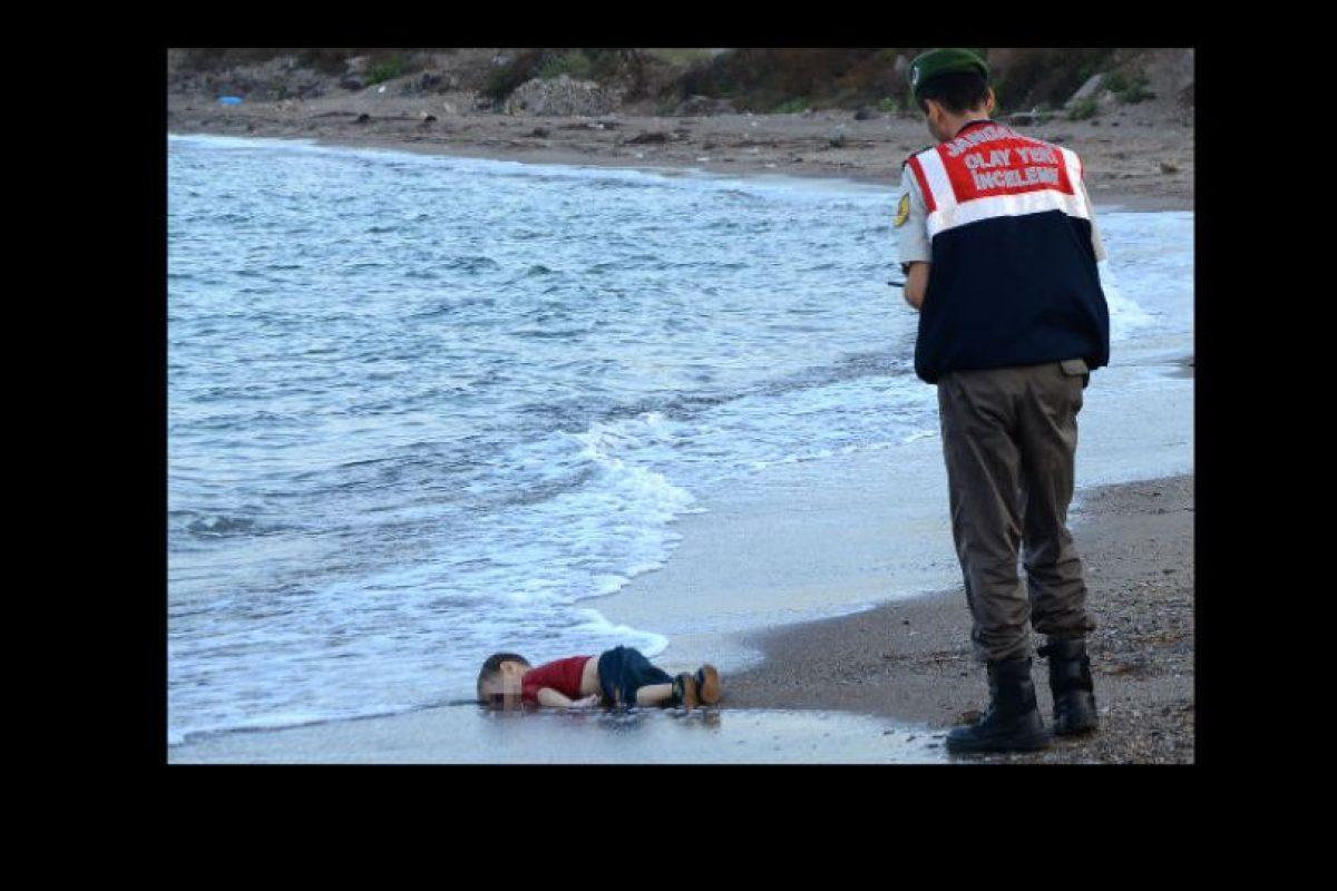 Aylan Kurdi tenía tres años cuando su cuerpo fue hallado en una costa de Turquía. Foto:AP. Imagen Por: