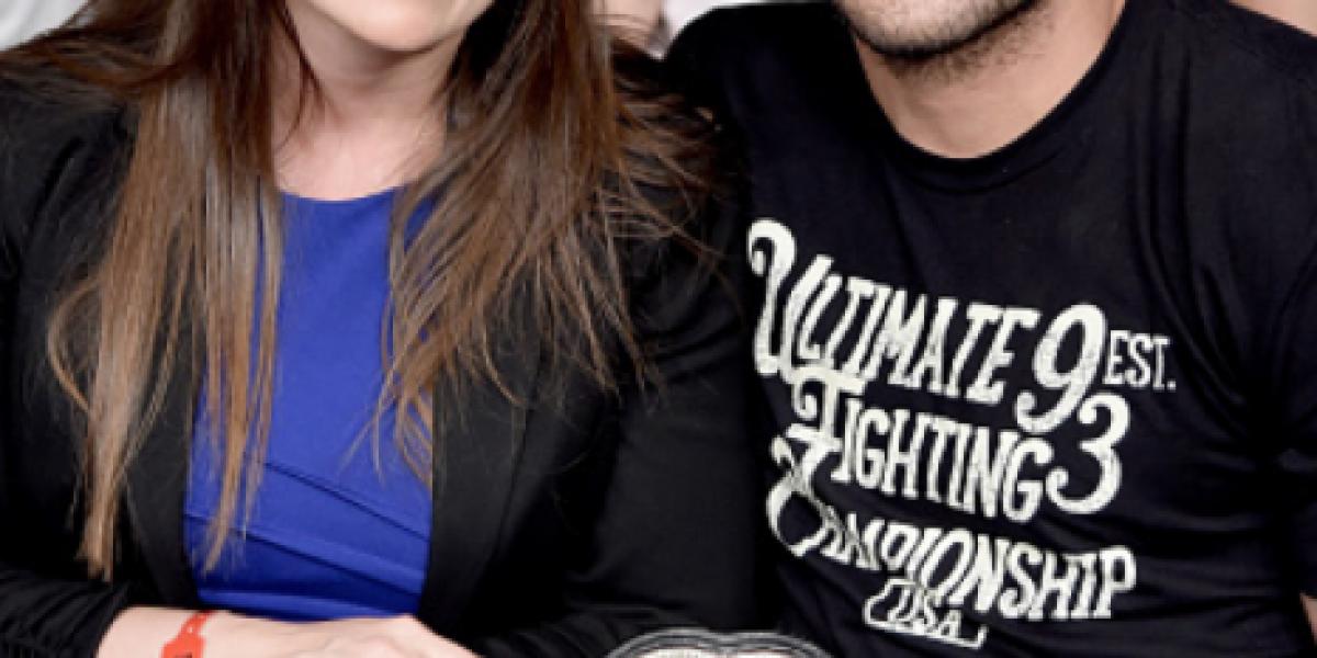 Fotos: Las atractivas parejas de los campeones de la UFC