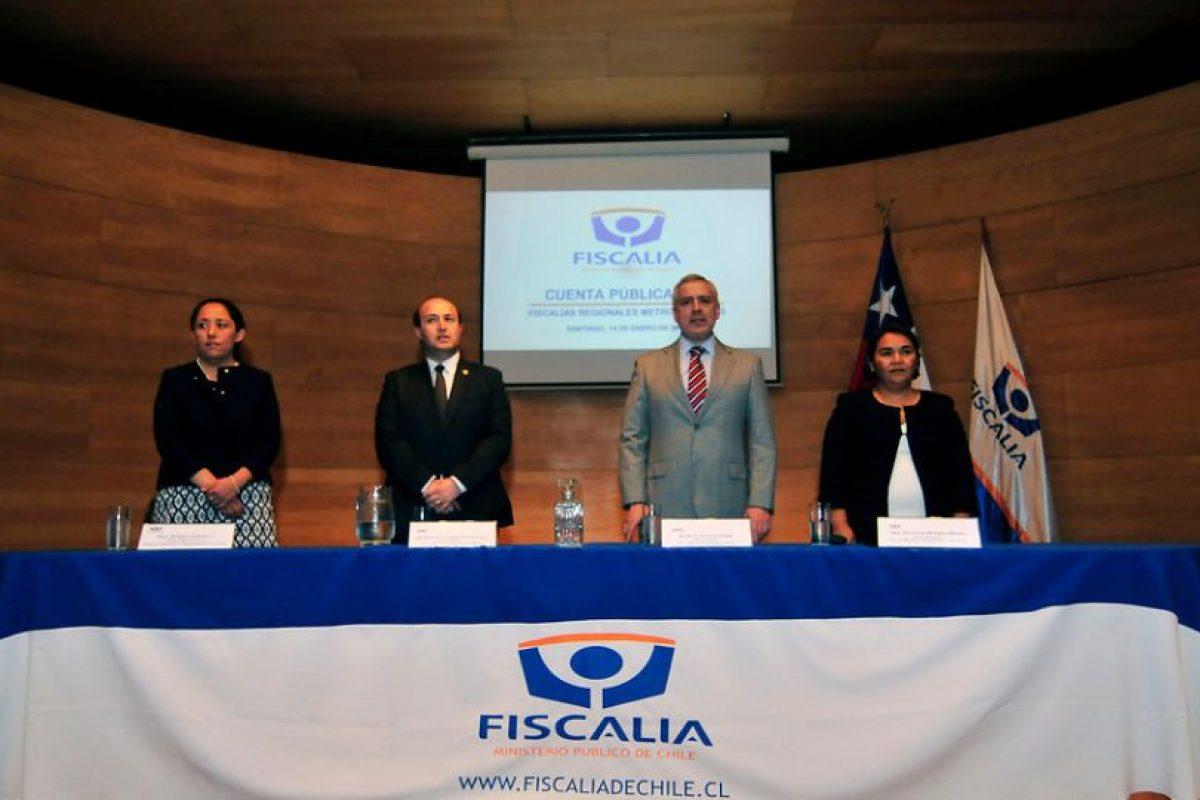 Fiscal Manuel Guerra Foto:Agencia Uno. Imagen Por: