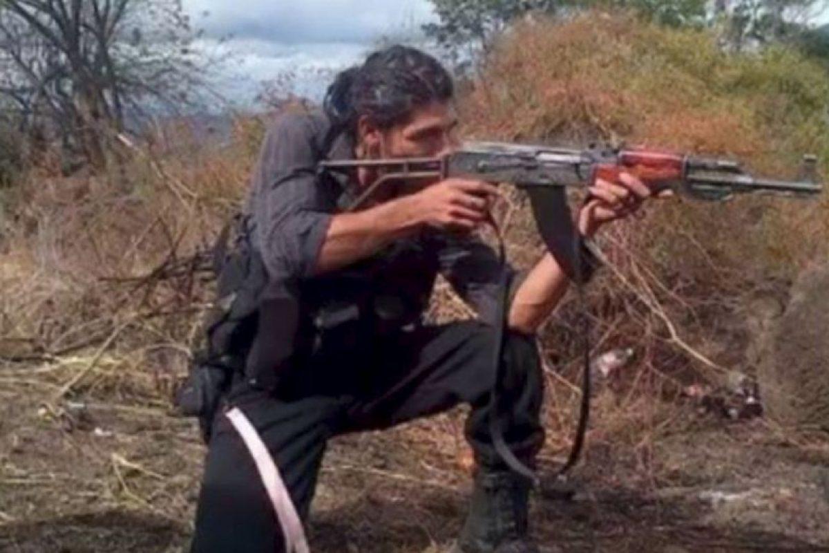 """Broly Banderas"""" es el sicario más poderoso del cartel """"Los Caballeros Templarios"""" de Michoacán. Foto:Vía Facebook/Broly Banderas- Organización ×. Imagen Por:"""