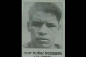 """Dandeny Muñoz Mosquera, alias """"La Quica"""", es el otro sicario que queda vivo del Cartel de Medellín aparte de """"Popeye"""". Fue el que prácticamente ejecutó el atentado del avión de Avianca al subir un maletín que hizo explotar al avión en el aire. Lo detuvieron en 1991, porque planeaba hacer otros atentados en Estados Unidos. Foto:Vía Wikipedia. Imagen Por:"""