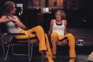 Uma Thurman y su doble Foto:Vía imdb.com. Imagen Por: