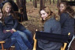 """Emma Watson y sus dobles en """"Harry Potter"""" Foto:Vía iheartwatson.net/. Imagen Por:"""