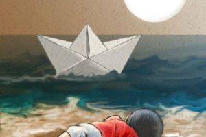 Su madre y hermano mayor también murieron ahogados. Foto:Vía Twitter. Imagen Por: