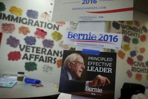 Hillary Clinton y Bernie Sanders llegan casi empatados en el Partido Demócrata. Foto:AFP. Imagen Por: