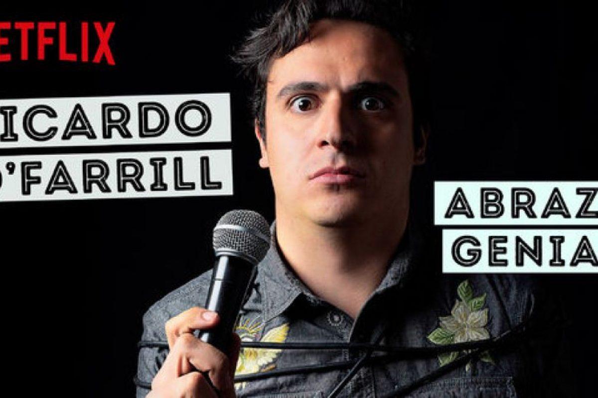 """Ricardo O'Farrill: Abrazo genial"" – Ya disponible. Foto:Vía Netflix. Imagen Por:"