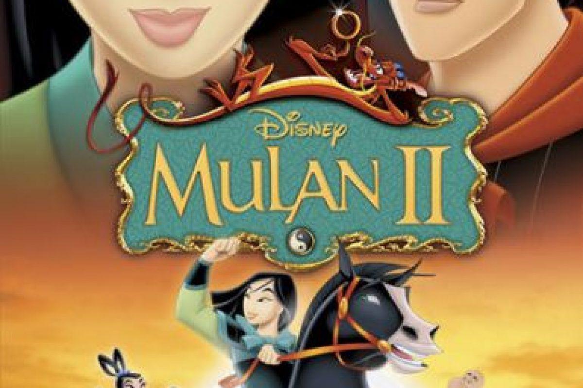 """""""Mulan II"""" – Disponible a partir del 3 de febrero. Foto:Vía Netflix. Imagen Por:"""
