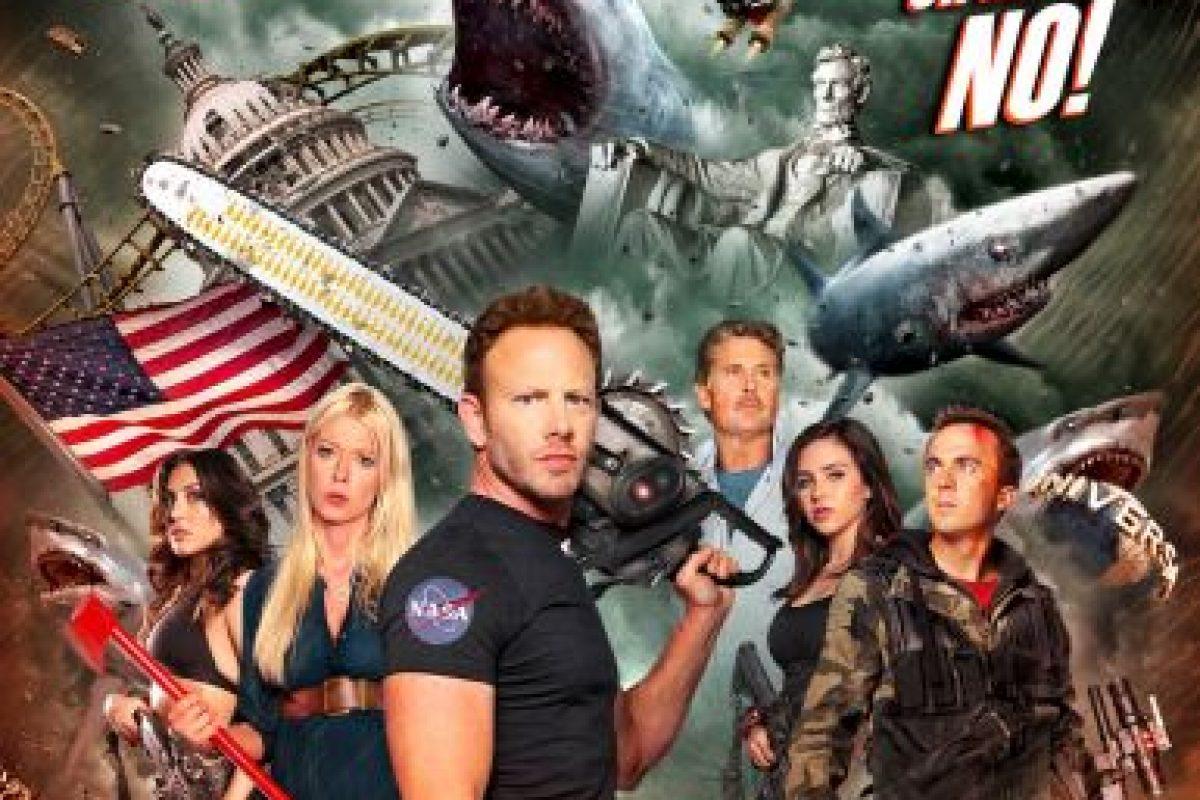 """Sharknado 3"" – Disponible a partir del 15 de febrero. Foto:Vía Netflix. Imagen Por:"