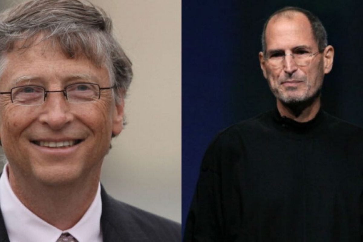 Bill Gates recuerda con cariño a Steve Jobs. Foto:Getty Images. Imagen Por: