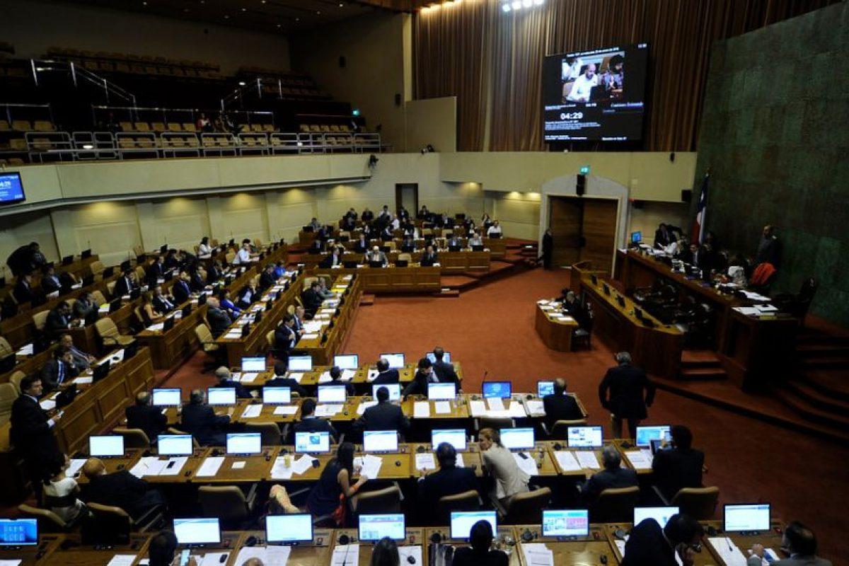 Cámara de Diputados Foto:Agencia Uno. Imagen Por: