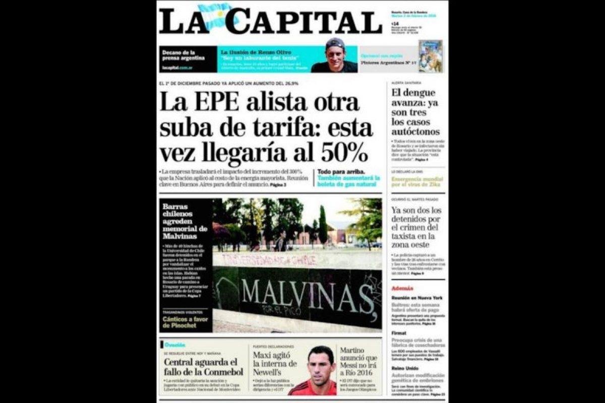 Foto:Captura La Capital de Rosario. Imagen Por: