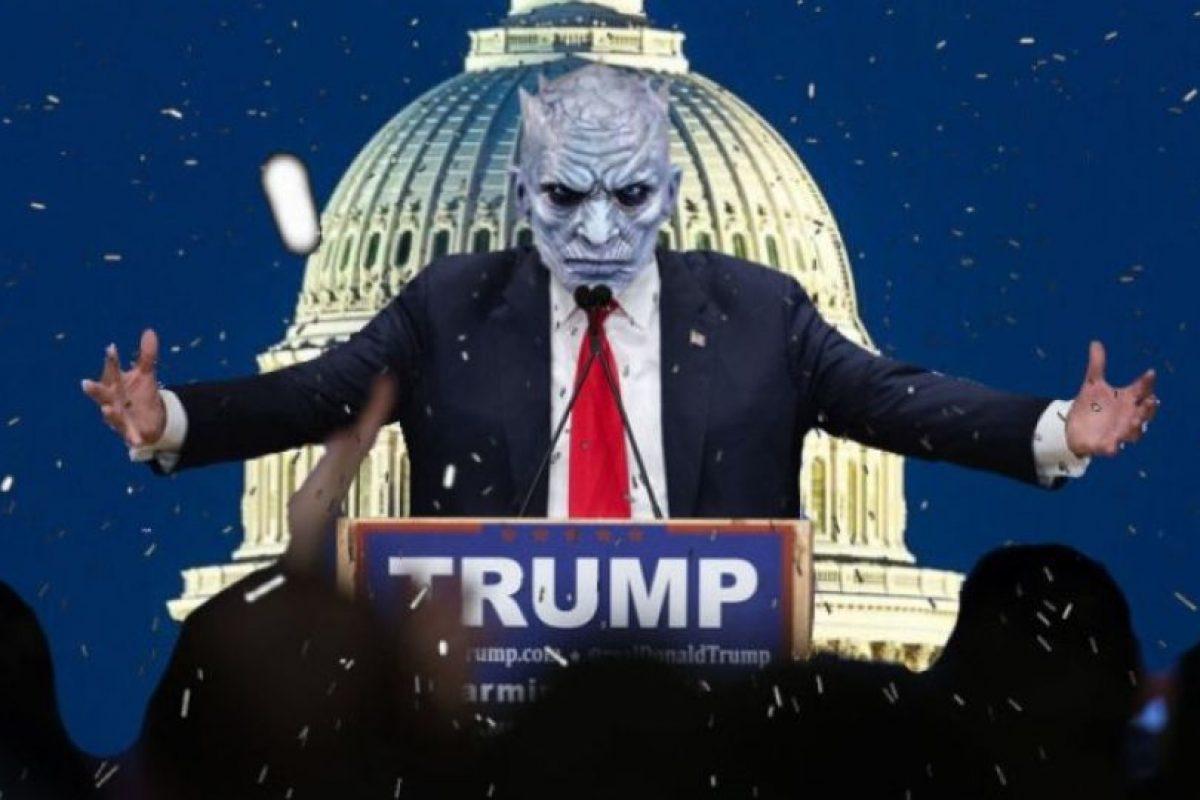 Las burlas a Donald Trump con Photoshop Foto:Vía Imgur / Reddit. Imagen Por: