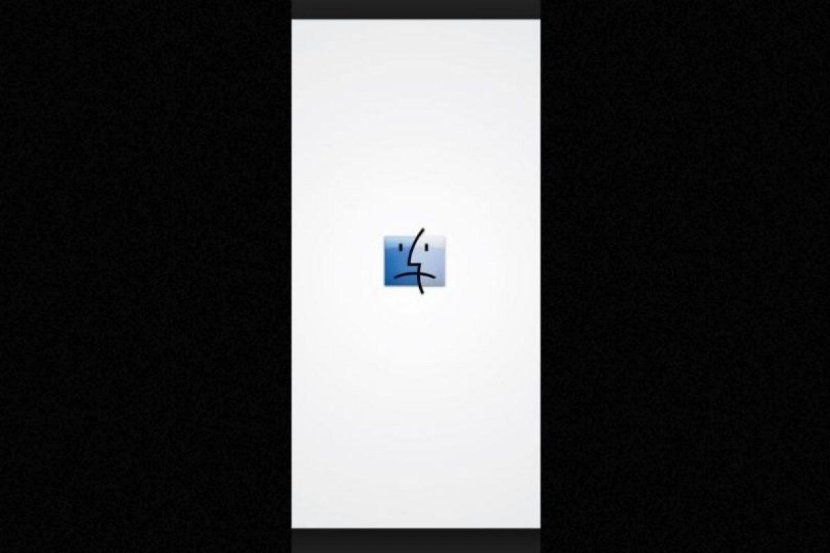 Finder nunca será lo mismo sin Jobs, el símbolo de este programa dejó de sonreír. Foto:Vía Tumblr.com. Imagen Por: