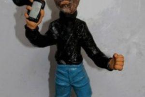 Los fanáticos recordaron al director de Apple con figuras de plastilina. Foto:Vía Tumblr.com. Imagen Por: