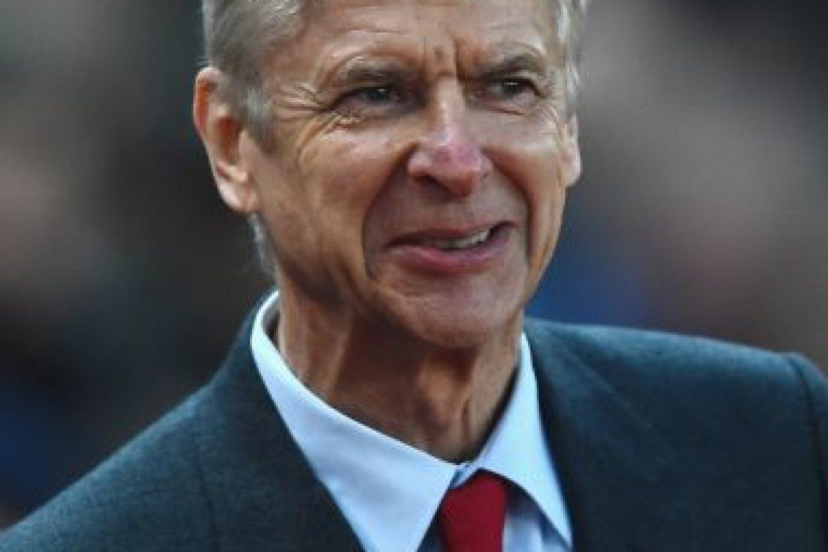 4. Arsene Wenger Foto:Getty Images. Imagen Por: