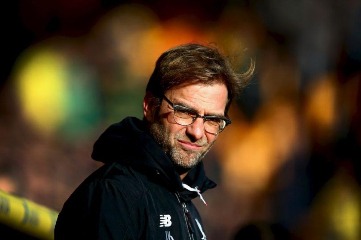 Al frente del Liverpool, el DT alemán recibe 13.9 millones de euros anuales. Foto:Getty Images. Imagen Por: