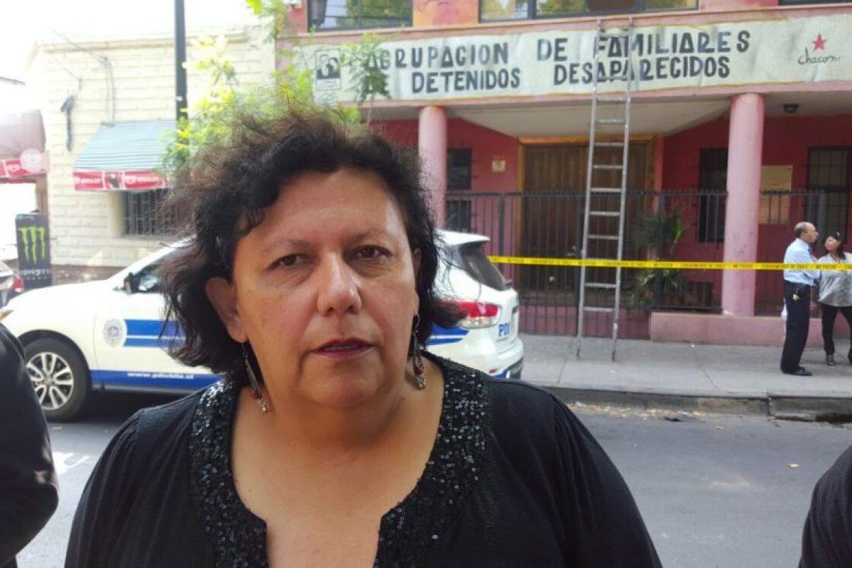 Lorena Pizarro, presidenta de la Agrupación de Familiares de DDDD Foto:Rodrigo Fuentes / Publimetro. Imagen Por: