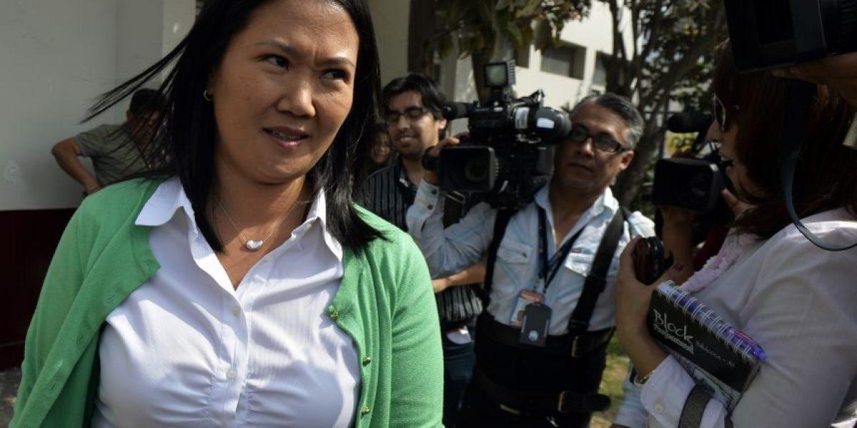 """La """"dama de hierro"""" que va por la presidencia del Perú"""
