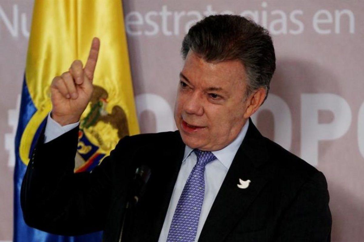 Juan Manuel Santos, presidente de Colombia Foto:Efe. Imagen Por: