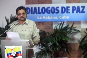 """""""Iván Másquez"""", segundo de las Farc, participa en los Diálogos de Paz en la Habana entre el gobierno colombiano y la organización. Foto:Efe. Imagen Por:"""