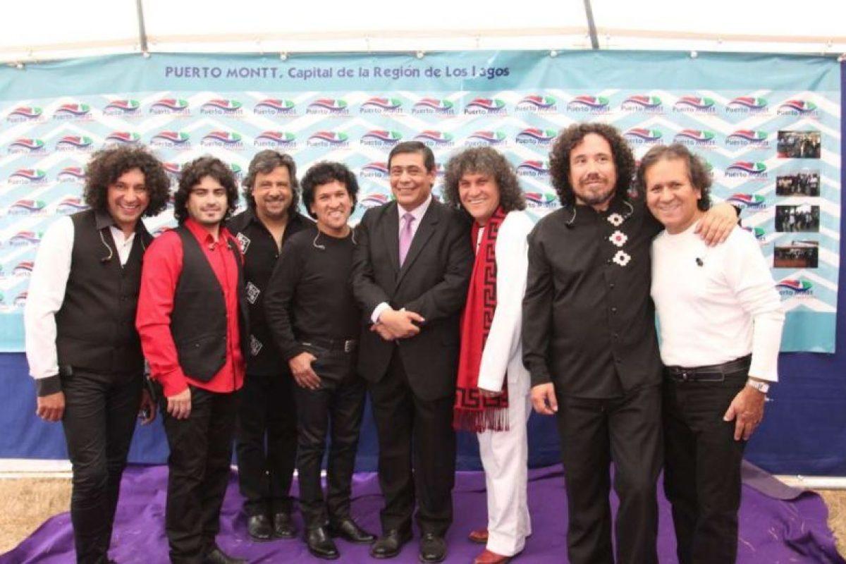 El grupo musical Illapu formó parte de la ceremonia. Foto:Gentileza. Imagen Por: