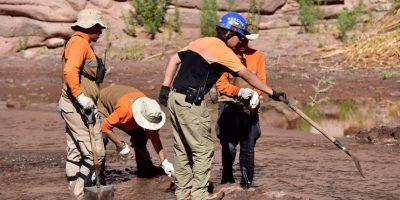 Desaparición de Kurt Martinson: crecida del río San Pedro complica trabajo de búsqueda de