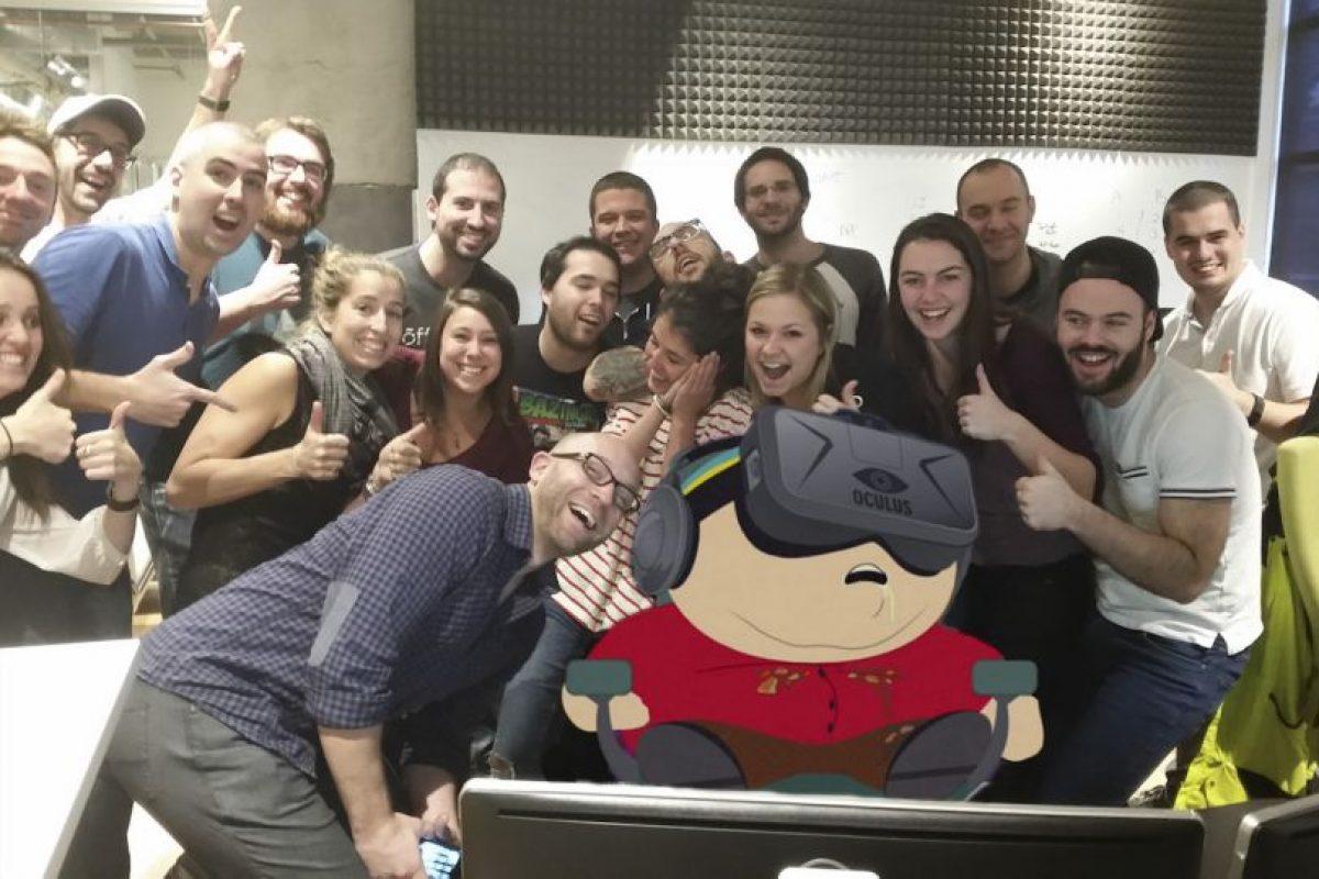 """O como personaje de """"South Park"""" Foto:Imgur / Reddit. Imagen Por:"""