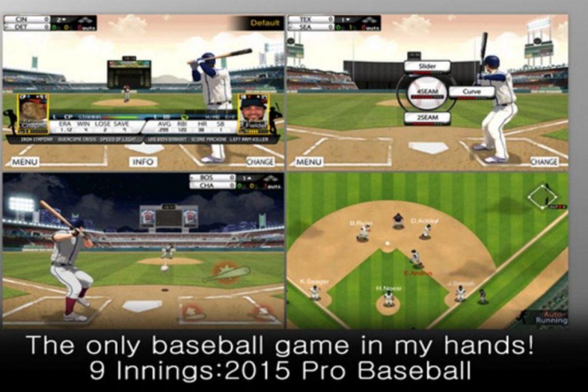 9 Innings: 2015 Pro Baseball Foto:Com2uS USA, Inc.. Imagen Por: