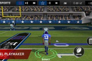 MADDEN NFL Mobile Foto:Electronic Arts. Imagen Por: