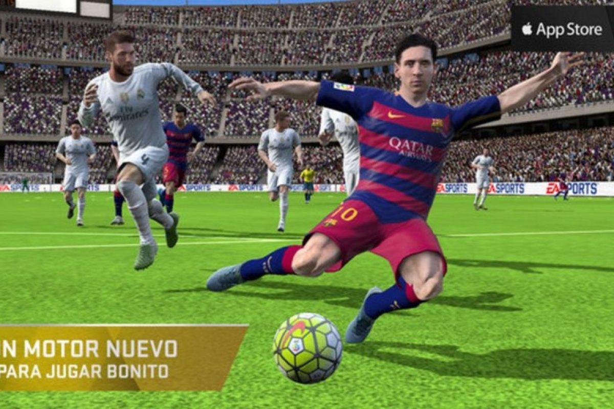 FIFA 16 Ultimate Team Foto:Electronic Arts. Imagen Por: