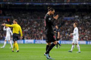 Zlatan Ibrahimovic es la máxima figura del PSG y de la Liga de Francia Foto:Getty Images. Imagen Por: