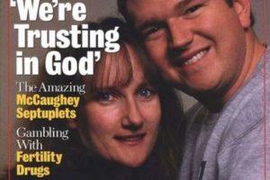 """Se opusieron al método de reducción selectiva (para eliminar al número de fetos). Dijeron que dejaban todo en """"manos de Dios"""". Foto:vía Getty Images. Imagen Por:"""