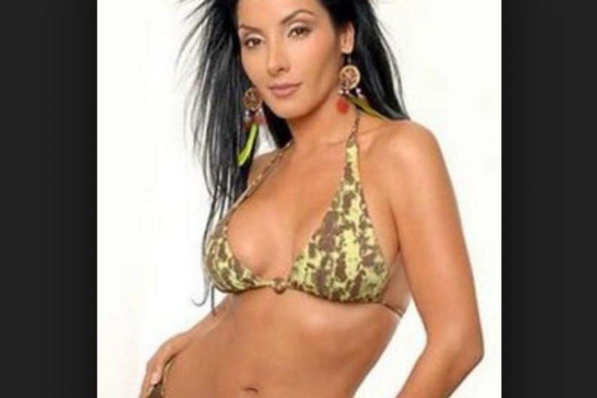 Liliana Lozano. La ex reina de belleza y actriz colombiana fue hallada muerta en 2009 junto con el cuerpo de Fabio Vargas Vargas, presunto hermano del narcotraficante colombiano Leónidas Vargas. Foto:Taringa.net. Imagen Por:
