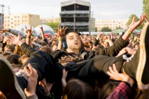 """Recibió un trato de verdadera """"estrella de rock"""" Foto:Imgur / Reddit. Imagen Por:"""