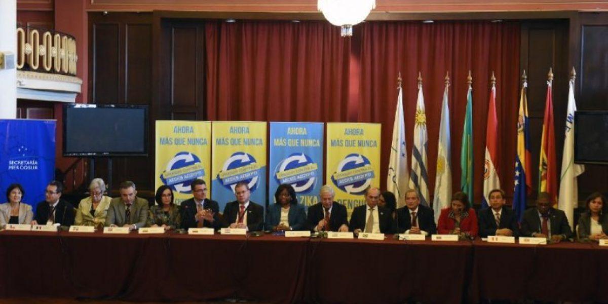 Ministros de salud del Mercosur acordaron medidas para combatir al virus Zika