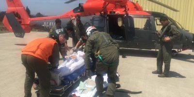 Operativo de la Armada permitió salvar la vida a pasajero de crucero