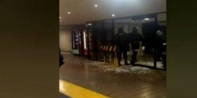 Investigan robo frustrado a cajeros automáticos en el Alto Las Condes