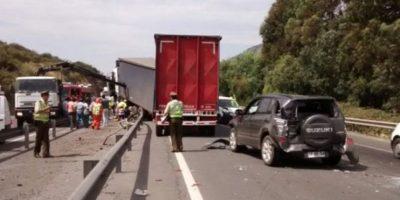 Accidente de tránsito en la Ruta 5 Sur dejó dos víctimas fatales