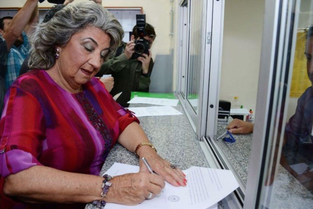 La alcaldesa Virginia Reginato presentó el recurso legal. Foto:Gentileza. Imagen Por: