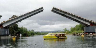 Del error al éxito: puente Cau Cau se convierte en nuevo punto de interés turístico