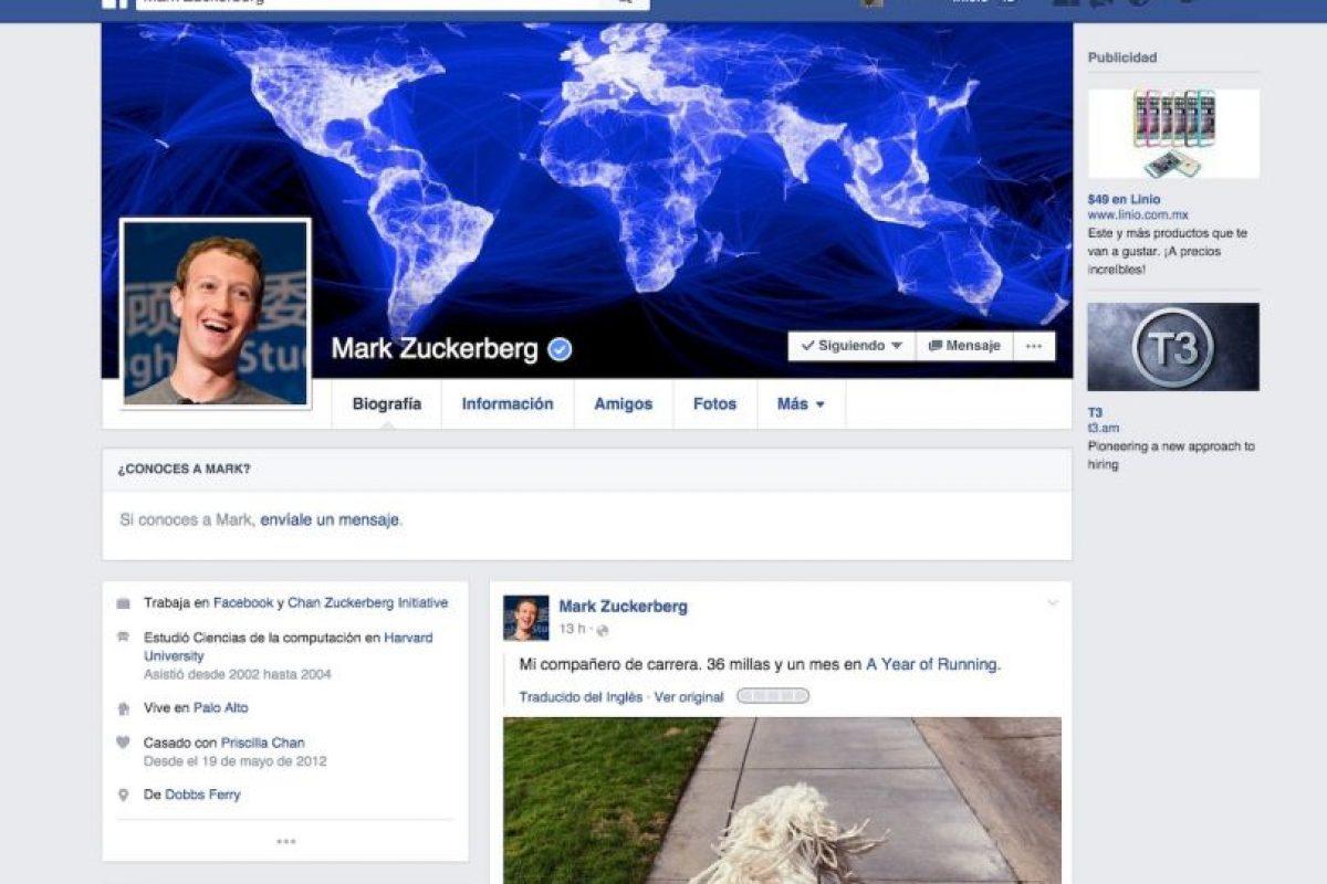 2016. Facebook les mostrará solamente las noticias que les importan. Foto:Vía Facebook. Imagen Por: