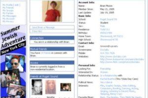 2005. Las comparaciones con MySpace no se hicieron esperar. Foto:Vía Facebook. Imagen Por: