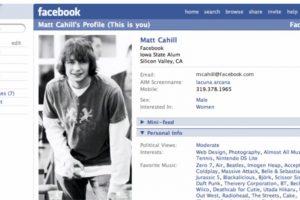 """2005. """"The"""" es eliminado del nombre de la red social. Foto:Vía Facebook. Imagen Por:"""