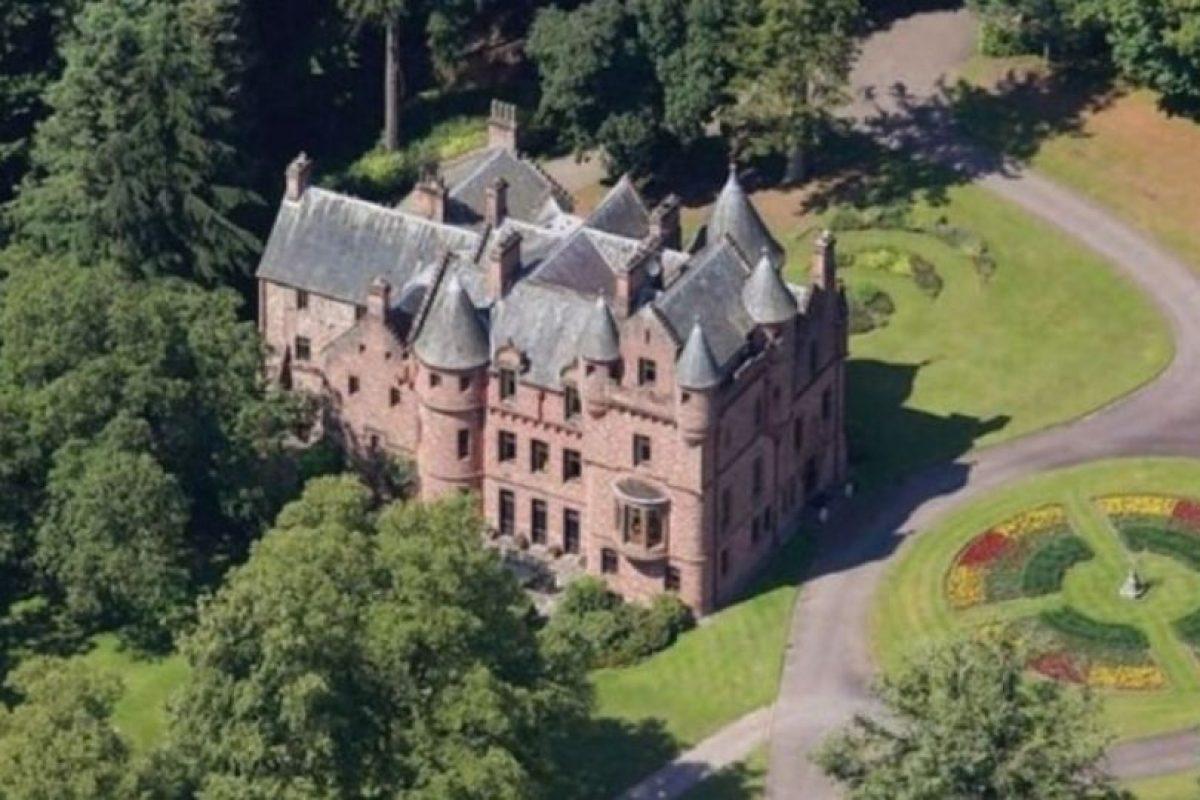 2. El castillo que compró en Escocia. Foto:Vía Pinterest.com. Imagen Por: