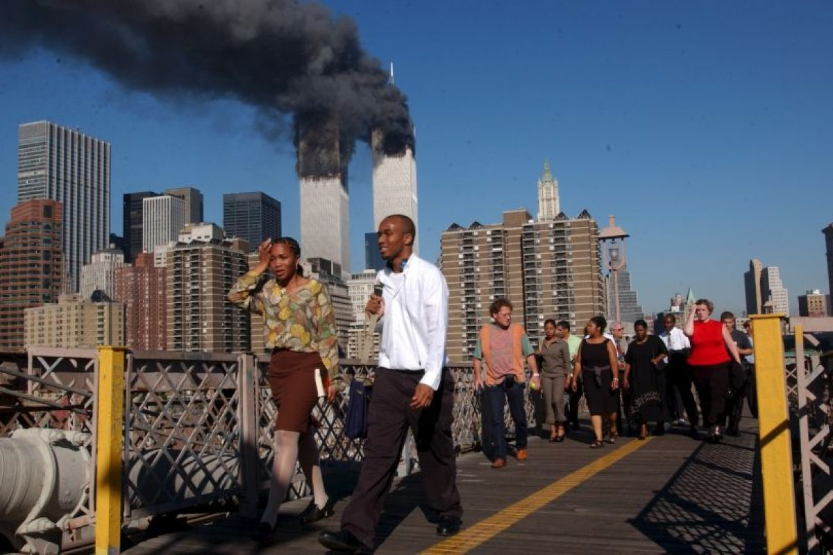 Dos impactaron contra el World Trade Center en Nueva York, causando su destrucción. Foto: Getty Images. Imagen Por: