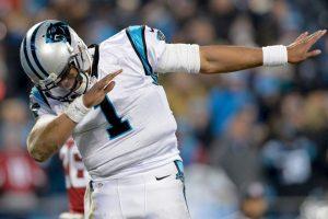 Pero Cam Newton, mariscal de campo de las Panteras, ya representa a la nueva generación de quarterbacks Foto:Getty Images. Imagen Por:
