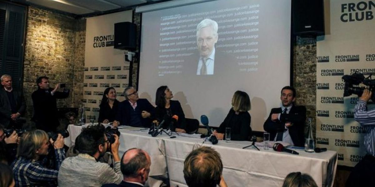 Assange pide a Suecia y al Reino Unido que