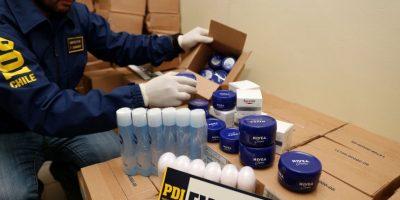 PDI recuperó cuatro mil artículos de perfumería que eran vendidos en la calle