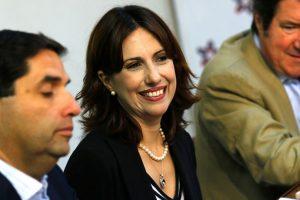 Alejandra Bravo, vocera del bloque Chile Vamos Foto:Agencia UNO. Imagen Por: