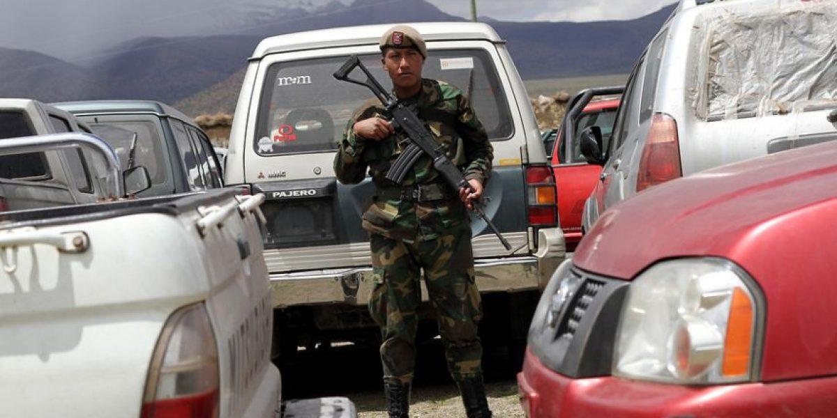 Las difíciles condiciones en las que duermen 80 chilenos varados en Bolivia
